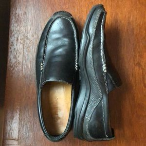 Cole Haan Black Slip On Leather Loafer 10 1/2M